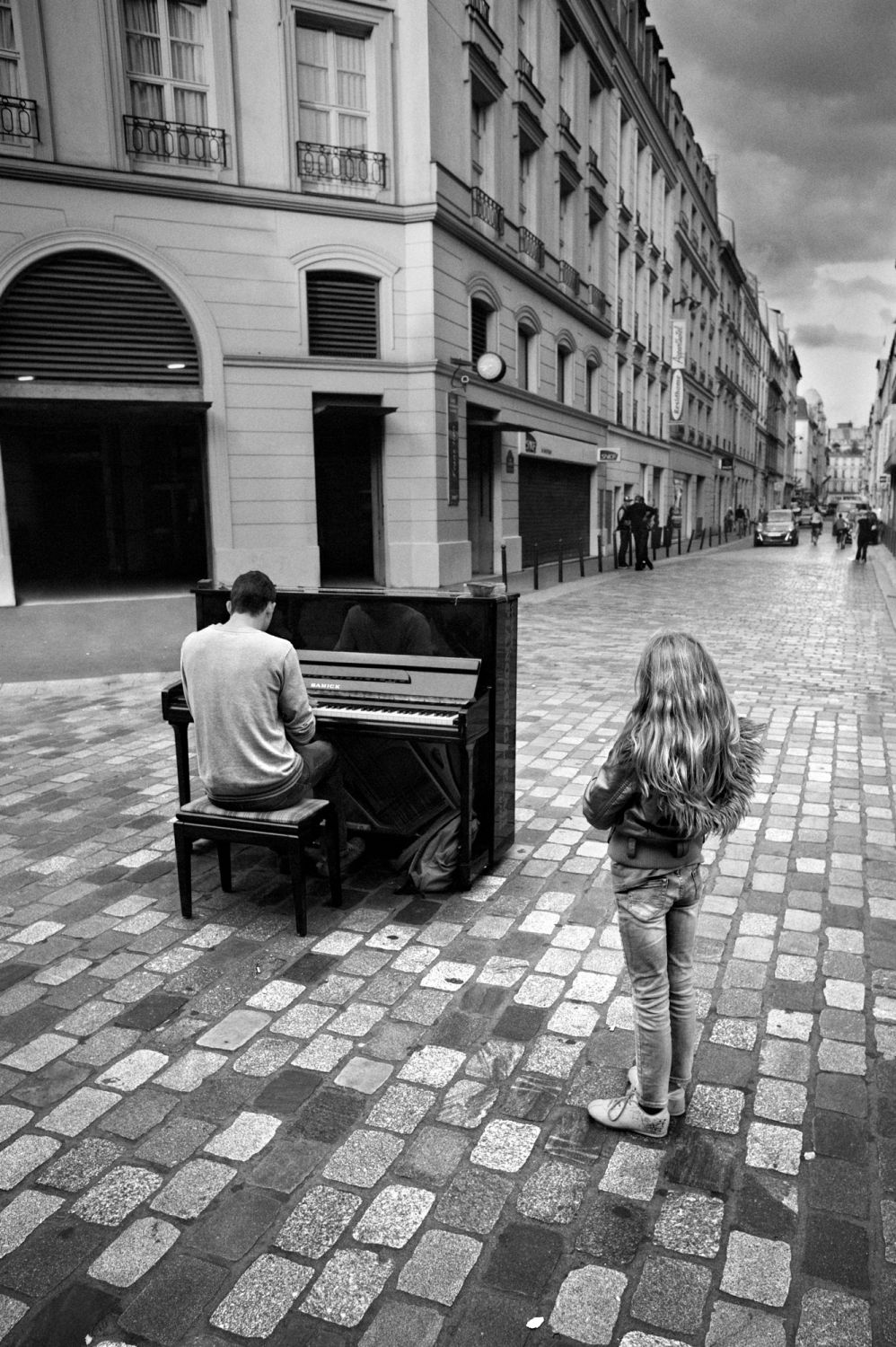 Paris - Le pianiste des grands magazins