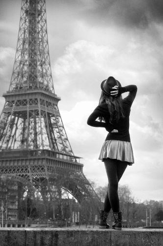 Parisiennes la dame de fer port debilly christophe lecoq - Sejour noir et blanc ...